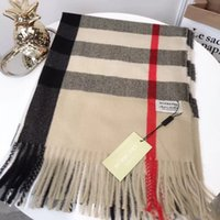 Hot Sale Luxury plaid scarf for women Europe and the United ...