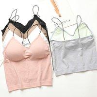 Camisoles & Tanks Sexy Women's Camisole Fashion Sequins Tank Top Summer V Neck Padded Underwear 1