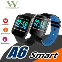 Bluetooth Smart Watch A6 Heart Rate Blood Pressure Sleep Mon...