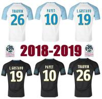 80233b9d9a64a Primera categoría S-3XL 18 19 Olympique de Marseille maillot en casa  camisetas de fútbol