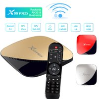 Rockchip RK3318 Android 9.0 TV Box 2.4G / 5G Dual Band Wifi 2 GB 16 GB Smart Mini PC 4K Media Player Android9.0 Set Top Box Super Cool Red Boxes