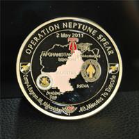 NEU * Operation NEPTUNE SPEAR 160. SOAR SEAL Team 6 Navy Gedenk-Herausforderungsmünze, versilbert Freimaurer-Metallmünzen,