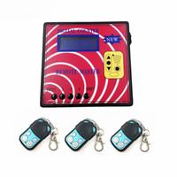 CKS Car Garage Porta Telecomando Telecomando macchina da banco digitale Master remoto con 3pcs A Tipo Tasti remoti a frequenza regolabile