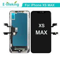 عرض LCD لشاشة اي فون XS MAX التي تعمل باللمس استبدال محول الأرقام الجمعية 100٪ اختبارها للحصول على XS MAX جودة عالية