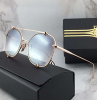 Pilot Sunglasses Gold Gold Flash Lens Gafas de sol Luxury De...