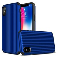 Hybrid Armor TPU Cases Luggage For S9 S8 Note 9 Iphone X XS ...