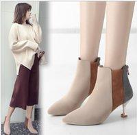 وأشار خريف جديد الأحذية النسائية مزاجه البريطاني اللون مطابقة رقيقة أحذية عالية الكعب المرأة الجلد المدبوغ المرأة الأزياء والأحذية