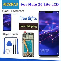 Neue lcd für huawei mate 20 lite lcd display touchscreen digitizer assembly ersatz kamerad 20lite huawei 20 lite