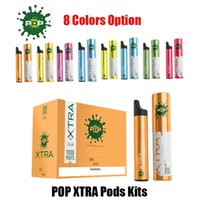 Newest POP Xtra Disposable Device Starter Kit 550mAh Battery...