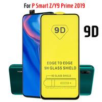 CUBIERTA COMPLETA 9D Protector de cristal anti-huellas digitales Protector de pantalla de cristal templado para Huawei P20 P30 MATE 20 30 LITE Y5 Y7 Y7 PRO Y9 PRIME NOVA 3I 4 5 5T 6 P SMART Z HONOR V30
