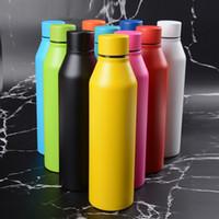 2020 Новые бутылки колы Shaped воды с вакуумной изоляцией путешествия бутылки воды двойными стенками из нержавеющей стали формы кокса Открытый бутылки воды