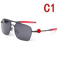-Marco al por mayor 4061 gafas de sol UV400 de la lente polarizada mujeres hombres Deportes Gafas de sol Gafas de ciclo tendencia de la moda gafas de sol al aire libre Colores