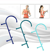 Masaje profundo cuerpo de la herramienta de presión masajeador de puntos gatillo Auto Masaje corporal Palo muscular alivio de masaje de espalda bastón terapéutico