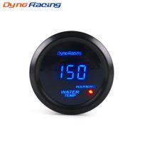 """Dynoracing Water Temp Gauge 2 """"52mm Digital Vattentemperaturmätare Blå LED-bilmätare med sensor BX101462"""