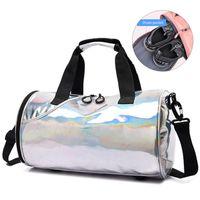 Спорт Тренажерный зал сумка для женщин Путешествия вещевой сумки на ремне сумки сухой и мокрой поездки Blaso Дамы путешествия Йога Сумки Обучение
