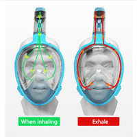 Snorkeling Mask Waterproof Full Dry Snorkel Liquid Rubber + ...