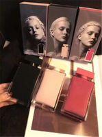 클래식 스타일 3 가지 향수 핑크 병 장미 레드 병 검은 병 여성을위한 매력적인 향기가 오래 지속되는 시간 무료 배송