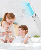 20шт Handheld Ультрафиолетовое UV стерилизатор лампы Нижнее белье для младенцев Соска маски Дезинфекция лампы Складная UVC Бактерицидные Rod