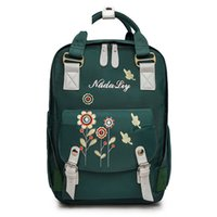 Korean Embroidery Backpack Women' s New Autumn And Winte...
