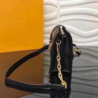 مصمم - مصمم بالجملة مربع الأصلي صغيرتي ملاك حقائب مساء أكياس جلدية الأزياء مربع مخلب الطوب رسول حقيبة الكتف 43596