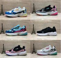 2019 Falcon W Tênis Para As Mulheres Homens de Alta Qualidade Falcon Shoes Designer De Luxo Tênis Originais Jogging Ao Ar Livre Tamanho 36-45