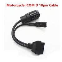 Fcarobd Per BMW ICOM Moto cavo di interfaccia Icom D Modulo 10pin ICOM D Cavo adattatore per moto Strumento di diagnostica