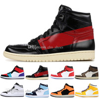 1 OG Travis Scotts basketball shoes mens women Spiderman Chi...
