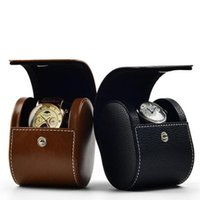 PU watch display box collection watch set box watch accessories packaging box material PU+MDF+ flax size 14mm/9mm