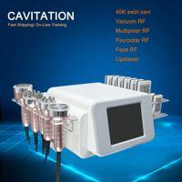 Radiofrequenz Bipolar Ultraschallkavitation 6in1 Cellulite-Entfernung Abnehmen Maschine Vakuum Gewichtsverlust Beauty-Ausrüstung