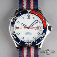 TW Commander Watch ETA 2824 Automatyczne mechaniczne 28800 Vf Sapphire Crystal Ceramic Bezel Ze Stali Nierdzewnej 904L Nylon Watch Pasek