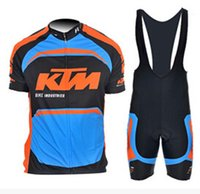 KTM Bicycle Wear PRO TEAM cycling jersey Ropa Ciclismo 9D Ge...