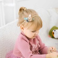 2019 New Ins Baby Hair Accessories Princess Flower Headband ...