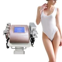 6 en 1 liposuccion corporel de cavitation ultrasonique minceur machine graisse professionnelle exploser rf perte de poids de poids