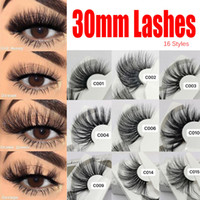 Super Long 25- 30 mm 3D Mink Lashes 100% Real Mink Eyelashes ...