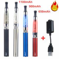 10 قطع الأنا ce4 النفط vape القلم كاتب كيت السيجارة الإلكترونية 650 900 1100 مللي أمبير ساعة