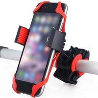 Titulaire de téléphone à vélos pour iPhone Samsung Smart Phone Smart Phone Universal Moto Bicycle Porte-Téléphone Mobile Bike Porte-porte-mobile