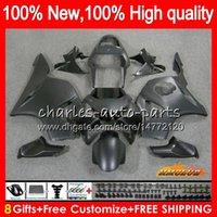 kit del cuerpo para HONDA CBR900RR negro mate CBR954RR CBR 900cc 954 900 CC RR 77NO.117 CBR 900RR 954RR CBR900 RR CBR954 2002 2003 02 03 carenado