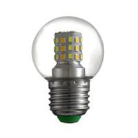 TRES COLOR TRANSFORMACIÓN G45 EDISISON DIMMABLE Estilo antiguo LED bombilla 3000K 6000K 4000K Lámparas blancas cálidas E27 110V ~ 240V