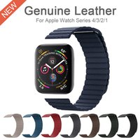 Genuine Leather Watch Band for iWatch 3 2 1 Strap 42MM 38MM ...