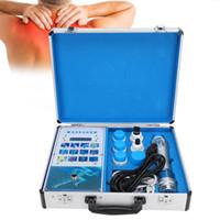 Cuerpo Relax 19ED electromagnética Terapia de choque extracorpórea Máquina de ondas de alivio del dolor de masaje masajeador Relajación