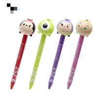 2020 Cute Cartoon Doll Stylo à bille En stock Cartoon Chunky école stylo à bille Fourniture de bureau Papeterie Cadeau gros