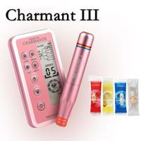Trucco CHARMANT II professionale permanente kit macchina del tatuaggio per labbra sopracciglio del Eyeline rotativa del tatuaggio della penna Microblading MTS Penna con cartucce