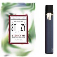 Stiizy Vape Pods Avançados Sistema de Entrega Premium Vaporizador Starter Kit 210mAh Recarregável Bateria Sagacidade USB Cabo