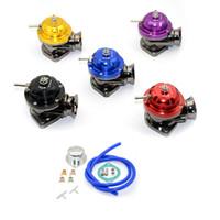 유니버셜 타입 -RS 터보 블로잉 밸브 조절 가능 25psi BOV 블로우 덤프 / 블로우 오프 어댑터 5 색