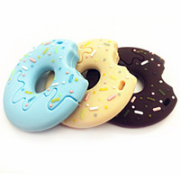 Baby silicone donut molar tooth gel 3D stereo teething gel e...