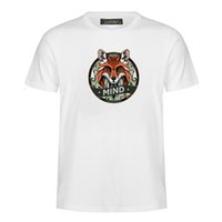 T-shirt dos homens novos da moda animal totem série impressão T-shirt legal camisa esportiva homens e mulheres estilo Harajuku T-shirt MC25