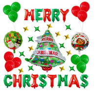 Globo de Navidad Conjuntos para niños juguetes globos Nueva decoración de la boda de la alta calidad de aire inflable Bolas nueva llegada