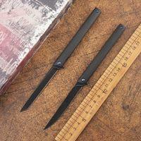 Sihirli kalem katlama bıçağı M390 bıçak karton lif kolu taktik av hızlı salım kamp sağkalım bıçak EDC aracı