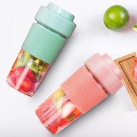 كأس البسيطة عصارة آلة الفاكهة الصغيرة عصير المحمولة USB قابلة للشحن آلة عصير عصير الفاكهة هدية التخصيص