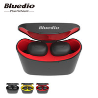 Bluedio Telf to ear wireless headset TWS 5. 0 really true ste...
